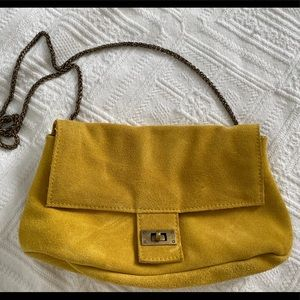 Free People suede crossbody